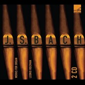 J.S. Bach: Works for Organ - Chorale Preludes, Toccatas, Preludes, Fugues / Leonid Roizman: organ [2 CDs]