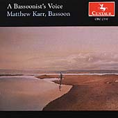 A Bassoonist's Voice / Matthew Karr