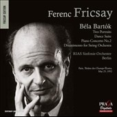 Béla Bartók: Two Portraits; Dance Suite; Piano Concerto No. 2; Divertimento for String Orchestra / Géza Anda, piano