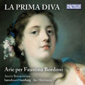 La Prima Diva: Arias for Faustina Bordoni - early 18th century works by Sarro, Torri, Caldara, Bononcini, Handel, Hasse / Agata Bienkowska, mz