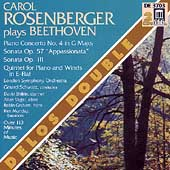 Carol Rosenberger Plays Beethoven/ Schwarz, London SO, et al