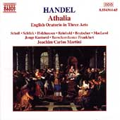 Handel: Athalia / Martini, Scholl, Schlick, Holzhausen, etc
