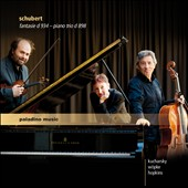 Schubert: Fantasie, D.934; Piano Trio, D.898; Impromptu in A flat major, D.935/2 / Boris Kucharsky, violin; Peter Wopke, cello; Elizabeth Hopkins, piano