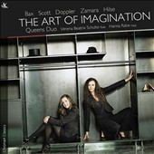 The Art of Imagination - Duos for flute & harp by Bax, Doppler, Hilse, Andy Scott & Zamara / Verena Beatrix Schulte, flute; Hanna Rabe, harp