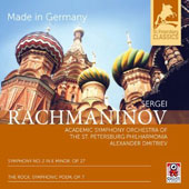Sergei Rachmaninov: Symphony No. 2 in E minor, Op. 27; The Rock, Symphonic Poem, Op. 7