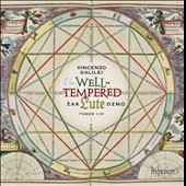 Vincenzo Galilei (1520-1591): The Well Tempered Lute, Tones I-IV / Äak Ozmo, lute