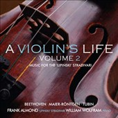 Beethoven: Violin Sonata No. 9; Amanda Röntgen-Maier (1853-1894): Violin Sonata in B minor; Eduard Tubin (1905-1982) Sonata for Solo Violin / Frank Almond, violin; William Wolfram, piano