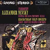 Prokofiev: Alexander Nevsky;  Khachaturian / Reiner, Elias