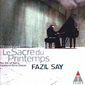 Stravinsky: Le Sacre du Printemps (4 Hand Piano)/ Fazil Say