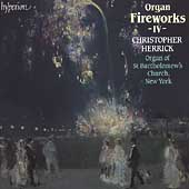 Organ Fireworks Vol 4 / Christopher Herrick