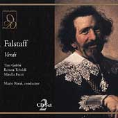 Verdi: Falstaff / Rossi, Gobbi, Tebaldi, Freni, et al