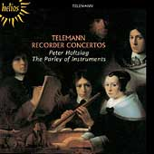 Telemann: Recorder Concertos/Holtslag, Parley of Instruments