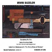Bazelon: Symphony no 1, etc / Farberman, Orchestra of Sofia