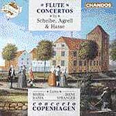 Flute Concertos by Scheibe, Agrelli, Hasse / Bania, Spranger