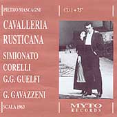 Mascagni: Cavalleria Rusticana / Gavazzeni, Corelli, et al