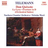 Telemann: Don Quixote Suite, etc / Ward, Northern CO