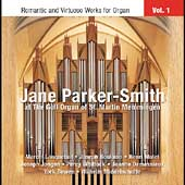 Romantic and Virtuoso Works for Organ / Jane Parker-Smith