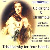 Tchaikovsky for Four Hands / Goldstone & Clemmow