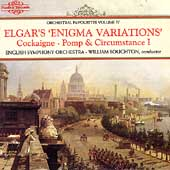 Elgar: Enigma Variations; Cockaigne Overture; Sospiri / Boughton, English String Orch.