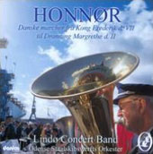 Lindo Concert Band plays Danish Royal Marches by Lumbye, Nielsen, Anderson, Stejn, Hansen & Heyde