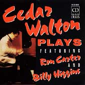 Cedar Walton: Cedar Walton Plays