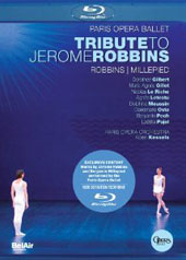 Tribute to Jerome Robbins / Kessels/Paris Opera Ballet, Gilbert, Gillot [Blu-Ray]