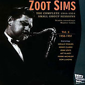 Zoot Sims: The Complete 1944-1954 Small Group Sessions, Vol. 2: 1950-1951