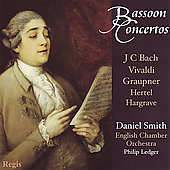 Vivaldi, etc: Bassoon Concertos / Smith, Ledger, English CO