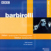 Nielsen, Sibelius: Symphonies / Barbirolli, et al