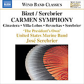 Wind Band Classics - Bizet-Serebrier: Carmen Symphony, etc