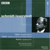 Weber, Tippett, Brahms / Schmidt-Isserstedt, BBC SO