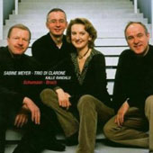 Schumann, Bruch: Works for Clarinet & Basset Horn / Meyer, Trio di Clarone