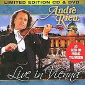 Live in Vienna - Mozart, Lehar, etc / Andr&eacute; Rieu, Johann Strauss Orchestra