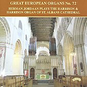 Great European Organs Vol 72 - Temmingh, Rousseau, Ritter, Horst, etc / Herman Jordaan