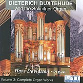 Dieterich Buxtehude and the Schnitger Organ / Hans Davidsson