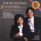 Strauss: Don Quixote;  Schoenberg: Concerto / Ma, Ozawa
