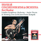 Shankar: Sitar Concerto, etc / Shankar, Previn, London Sym