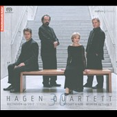 The Hagen Quartet plays Beethoven, Mozart, Webern