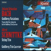 Bach: Goldberg Variations; Schnittke: String Trio