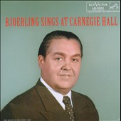Bjorling Sings at Carnegie Hall
