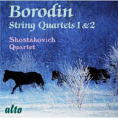 Borodin: String Quartets 1 & 2 / Shostakovich Quartet