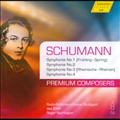 Premium Composers, Vol. 2: Schumann: Schumann Symphonies 1 - 4 / Norrington