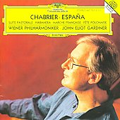 Chabrier: Espa&#241;a, etc / Gardiner, Wiener Philharmoniker