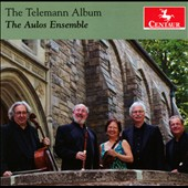 The Telemann Album - Trio sonatas & quartets with recorder / The Aulos Ensemble