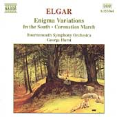 Elgar: Enigma Variations, etc / Hurst, Bournemouth SO