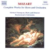 Mozart: Complete Works for Horn and Orchestra / Thompson