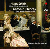 Dvorak: Piano Quartet No. 1; Hugo Stahle (1826-1848): Piano Quartet No. 1 / Mozart Piano Quartet