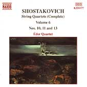 Shostakovich: String Quartets Vol 6 / Éder Quartet