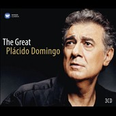 The Great Plácido Domingo - Works by Various Composers / Plácido Domingo, tenor; Various artists