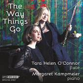 Randall Woolf: Righteous Babe; Steven Mackey: Crystal Shadows; John Halle: Gaze; Laura Kaminsky: Duo; Richard Festinger: The Way Things Go, et al. / Tara Helen OÆConnor, flute; Margaret Kampmeier, piano